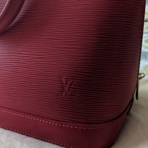 Louis Vuitton Bags - 2010 Louis Vuitton Alma Epi Rouge 2 Bag